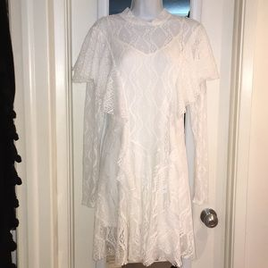 NWT Free People white dress szM